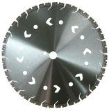 China OEM Special Design Diamond Circular Saw Blade Dry Cutting Tool with Holes Diamond Saw Blades