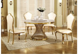 Dining Room Chairs Set of 4 Cheap Butterfly Back Gold Chair for Banquet and Wedding