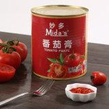 China Organic Canned Tomato Paste 28-30% Concentration 3kg*12 Tins Canned Tomato Paste