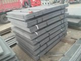Mill Construction Ss400 Hot Rolled Riffled Checkered Black Carbon Steel Plate