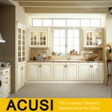Modern Modular Solid Wood Kitchen Cabinets Shaker Factory Directly (ACS2-W93)