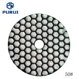 "4"" 50# Dry Diamond Fexible Polishing Pads for Stones and Concrete"