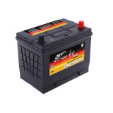 Expanded Grid Tech Pre-Filled with Acid 80d26 65D26 N70mf 12V 70ah Car Auto Battery