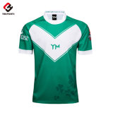 100% Polyester Sublimation Custom Shirt Cheap Rugby Jerseys