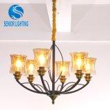 Modern Decorative Metal Brass Hanging Nordic Pendant Lamp