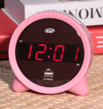 Durable Eco-Friendly Discovery Classic USB Charger Port Children Alarm Clock