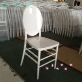 PC White Resin Phoenix Chair at Wedding Party