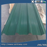 Colorful Stone Coated Metal Roof Tile Back Green Classical Tile