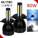 Auto Part G5 G20 12V 40W LED Car Light H7 5202 H11 9005 9006 H13 9004 9007 H4 LED Headlight Bulbs
