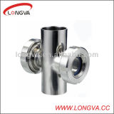 Stainless Steel Welding Four-Way Sight Glass