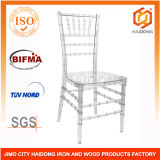 Polycarbonate Resin Lucite Chiavari Chair in Clear