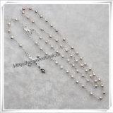 Copper Bead Chain Cross/Crucifix Accessories Rosary / Copper Rosary Beads (IO-cr277)
