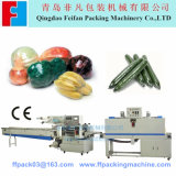 PLC Control Vegetable Shrink Machine Vegetable Wrapping Machinery