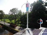 400W Vertical Wind Turbine Generator and Solar System