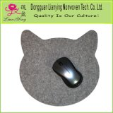 Cat Head Mouse Pad Wool Felt Computer Mousepad