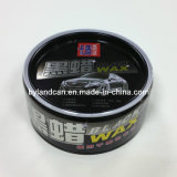 300g Round Car Wax Tin Can
