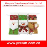 Christmas Decoration (ZY14Y519-1-2-3) Christmas Wine Cover Christmas Supplies