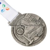 Factory Cheap Custom Design Your Own Zinc Alloy Metal Award Medal for Promotional Gift