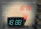 Wholesale Fashion Desktop Electric Digital Projection Logo Multi-Function LED Digital Projection Alarm Clock