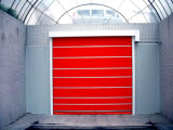Industrial Transparent PVC Automatic High Speed Door