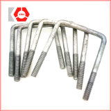 Carbon Steel L Bolt/ Anchor Bolt with Washers and Nuts