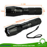 Zoomable Aluminum Alloy Xml T6 LED Flashlight Torch Tactical