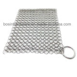 Stainless Steel Jump Ring Mesh Chain with O Ring