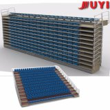 Jy-768 Automatic Portable Bleacher Factory Price Stadium Chair Ce Folded Seat Retractable Grandstand Hot Sale Moveable Stand