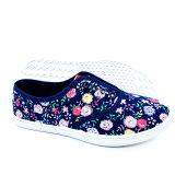 Fashion Cheap Women Flat Shoes Casual Shoes Canvas Shoes Sneaker Shoes (FF1810-13)