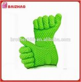 FDA LFGB Approved Kitchen Heat-Resistant Microwave Silicone BBQ Gloves