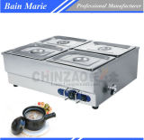 Stainless Steel Commercial Table Top Bain Marie Catering Equipment Sb-4t