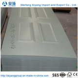 Moulded Wooden Interior HDF Door Skin for Apartment