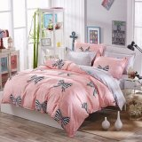 Home Textile Microfiber Polyester Fabric Printed Bedding