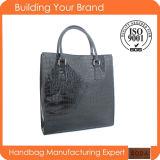 Wholesale Black Fashion PVC Promotional Hand Bag (BDM185)