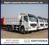 Used Sinotruk HOWO Dump Truck 12 Tyres 8X4 Tipper Truck with Good Condition