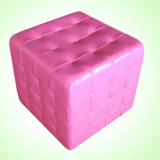Crystal Square Stool/PVC Stool/Kids Furniture/Children Furniture/Baby Stool/Baby Furniture (SF-43)