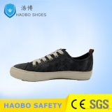 2018 Fashion Men Leisure Canvas Shoes with Vulcanized Rubber Outsole