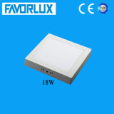 High Brightness 18W Square Surface Mounted LED Panel Light for Ceiling
