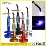 Dental LED Curing Light Lamp Wireless 5W 1500MW Blue Light Plastic