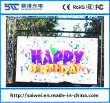 P5.95 SMD (1/7 Scan) Outdoor LED Display Full-Color TV for Rental
