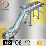 Inclined Plastic Modular Belt Conveyor for Food Transfer