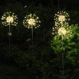 120LED Solar Power Garden Light Christmas Lights Outdoor Fireworks LED Lawn Lamp