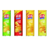Qinqin High Quality 100g Canned Potato Chips with Various Flavors