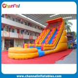 Volcano Double Inflatable Water Slide for Commercial