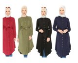 Long Dress Hot Sale Swimwear for Muslim Women