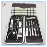 Professional Stainless Steel Nail Clipper Set Nail Tools Set of 10 Pieces