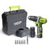 Vido 12V 18V SDS Hammer Electric Screw Driver Impact Screwdriver Bit Drill Drills Tool Power Tools