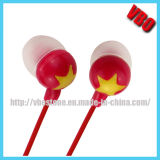 Hot Sell New Design Plastic Earphone (10P2410)