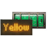 Factory Wholesale Price Outdoor DIP546 Single Yellow Color P10 LED Display