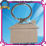 Bespoken Metal House Key Chain with Logo Engraivng